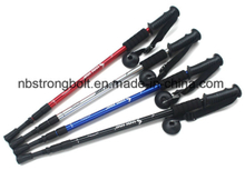 3-Section Outdoor Straight Shank Hiking Aluminum Alloy Alpenstock,outdoor sticks,Aluminum Alloy sticks,trekking pole/China profession trekking pole stick,China trekking pole factory