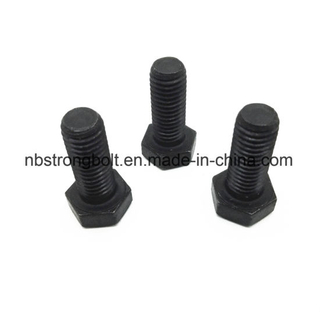Hex Bolts DIN933 Cl. 10.9 Black\China hex bolts factory ,China hex bolts manufacturer