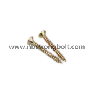 DIN7505 Chipboard Screw with Yzp/China chipboard screw factory,China chipbopard screw manufacturer