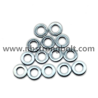 DIN125A Flat Washers Carnbon Steel with Zinc Plated Cr 3+ M5/China Washer factory,China washer manufacturer