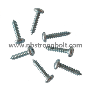 Pan Farming Head Serrated Self Drilling Screw with Zinc Plated/China self drilling screw factory,China screw factory
