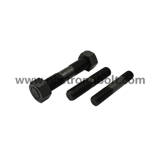 Threaded Rod with Black Oxid,China STUD bolt factory,China stud bolt manufacturer
