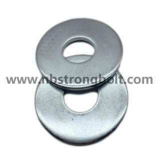 DIN9021 Larg Size Flat Washer with Zinc Plated/flat Washer DIN9021,China Washer factory,China washer manufacturer