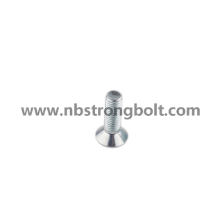 Hex Socket Bolt DIN7991 Zp