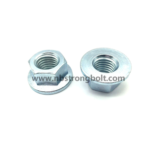 DIN6923 Hex Flange Nut/China nut factory,China hex flange nut manufacturer