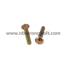 DIN603 Round Head Square Neck Bolts Carriage Bolts with Nuts/China carriage bolt factory,China carriage bolt manufacturer