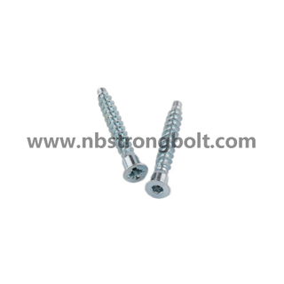Flat Point Confirmat Screw with Deep Hole/China Confirmat Screw factory,China screw factory