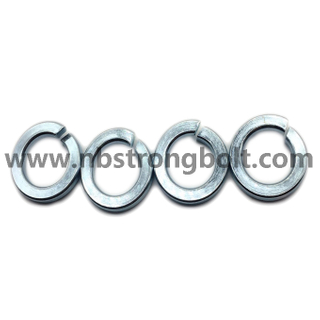 DIN127B Spring Lock Washers with Zinc Plated Cr3+ M20/China Washer factory,China washer manufacturer