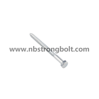 Hexgon Head Wood Screw Gr. 4.8/China wood screw factory,China screw manufacturer,DIN571,China DIN571