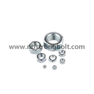 Hex Nut with Zp Cl. 8
