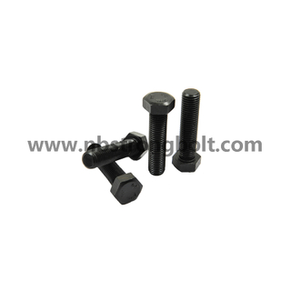 Hex Bolts Black (DIN931) China,China hex bolt factory,China hex bolt manufacturer