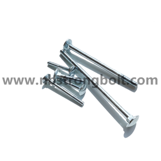 DIN603 Carriage Bolt With Zinc