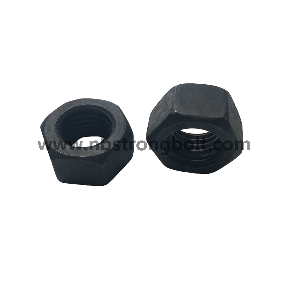 Hex Nut ISO4032 CL.8 BLACK / Hex Nut and Hex Jam Nut/China customized nut factory,China custonmized nut manufacturer
