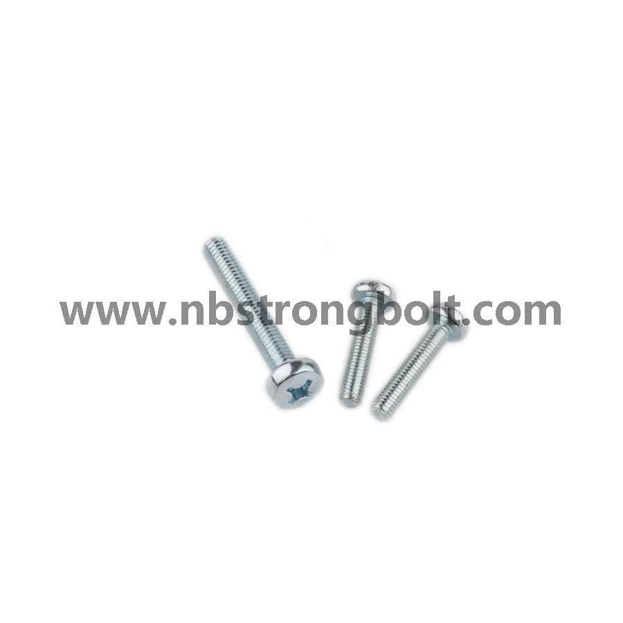 DIN7985 Machine Screw with Zinc Plated/China screw factory,China screw manufacturer