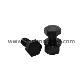 "ASTM A194 Gr. 2h Heavy Hex Nut Black 1/4""-20/China nut factory,China hex nut manufacturer"