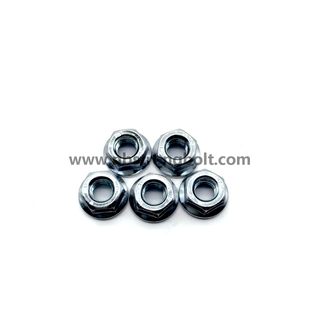 DIN6923 Hex Flange Nut Gr. 8 with Zp/China nut factory,China hex flange nut manufacturer