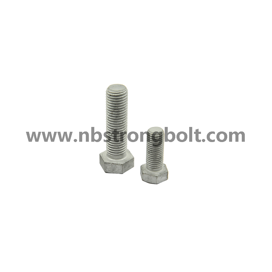 Hex Bolts DIN931 HDG with Hole/China hex bolt factory,China hex bolt manufacturer
