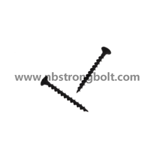 "Phil Bugle HD Coarse Thread Drywall Screws Black Phos #6X1.1/4""/China self drilling screw factory,China screw factory"