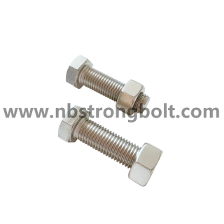 Stainless Steel SS316 Hex Bolt Nut/ China Hex Bolt Nut factory /ChinaHex Bolt Nut manufacturer