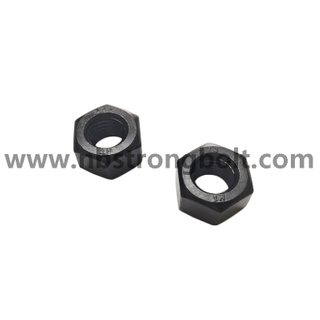 "ASME/ANSI B18.2.2 Heavy Hex Nut 2H with Black 3/4""-20"