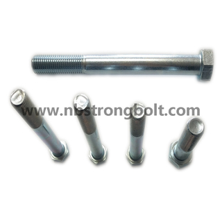 DIN933/DIN931 Hex Bolts Gr. 12.9 Black