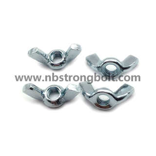 DIN315 Wing Nut with Zinc Plated Cr3+/China wing nut factory ,China nut manufacturer