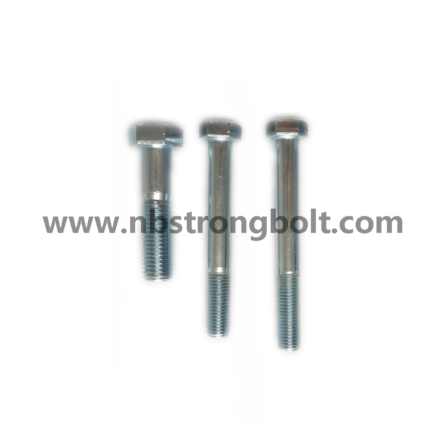 Hex Bolt DIN931 with Zp/China hex Bolt manufacturer,China bolts factory,China hex bolts factory