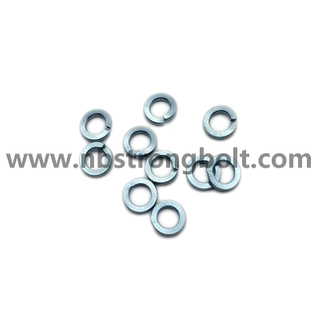DIN127B Spring Lock Washers with Zinc Plated Cr3+ M5/China Washer factory,China washer manufacturer