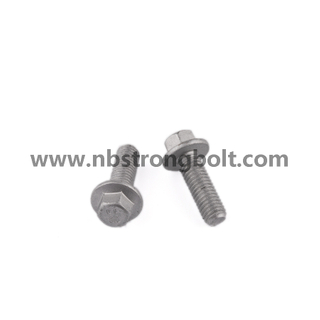 Hex Flange Head Bolt DIN6921/DIN6922 China,China flange bolt factory ,China flange bolt manufacturer