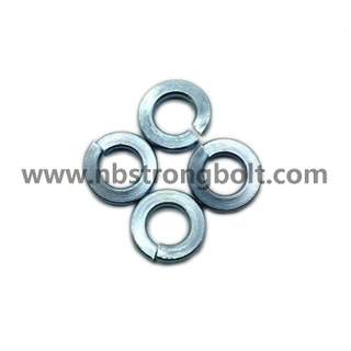 "ASME B 18.21.1 1999 Spring Lock Washers with Zinc Plated Cr3+ 1/4""/China Washer factory,China washer manufacturer"