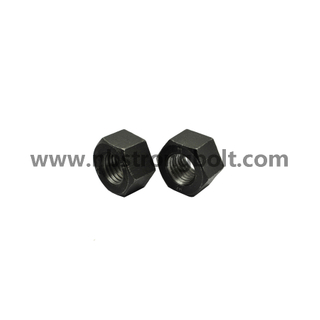 "ASTM A194 Gr. 2h Heavy Hex Nut with Black 1.1/4""-7/China nut factory,China hex nut manufacturer"