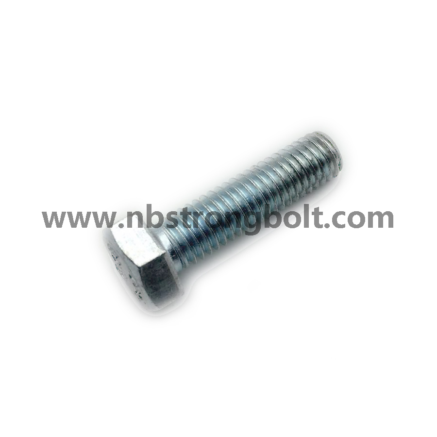 Hex Bolt, Hex Head Bolt, DIN933 Gr. 8.8 Zinc Plated Cr3+/China hex Bolt manufacturer,China bolts factory,China hex bolts factory