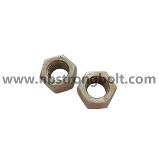 ISO 4032 Hex Nut with HDG ISO FIT M20/China customized nut factory China custonmized nut manufacturer