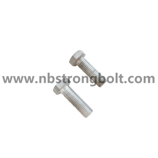 DIN933 Hex Bolt HDG ( 6H After Coating)/ China hex bolt factory /China bolt manufacturer