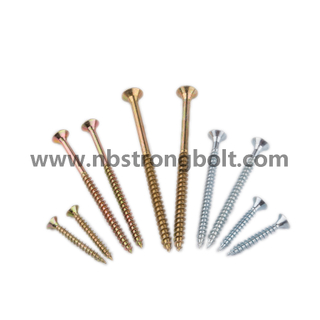 Half Thread Chipboard Screw with Yzp/China chipboard screw factory,China chipbopard screw manufacturer