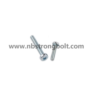 DIN7985 Zp Ph Cross Recessed Raised Cheese Head Screw/China screw factory,China screw manufacturer