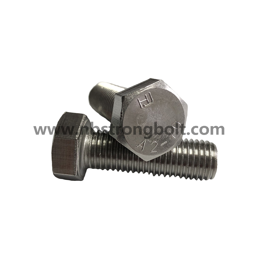 DIN933 Hex Bolt With Stainless Steel 304 / Hex Bolt / China Hex Bolt manufacturer / China Hex Bolt factory