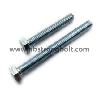 Hex Bolt DIN933/DIN931 with HDG,China bolt factory,China bolt manufacturer
