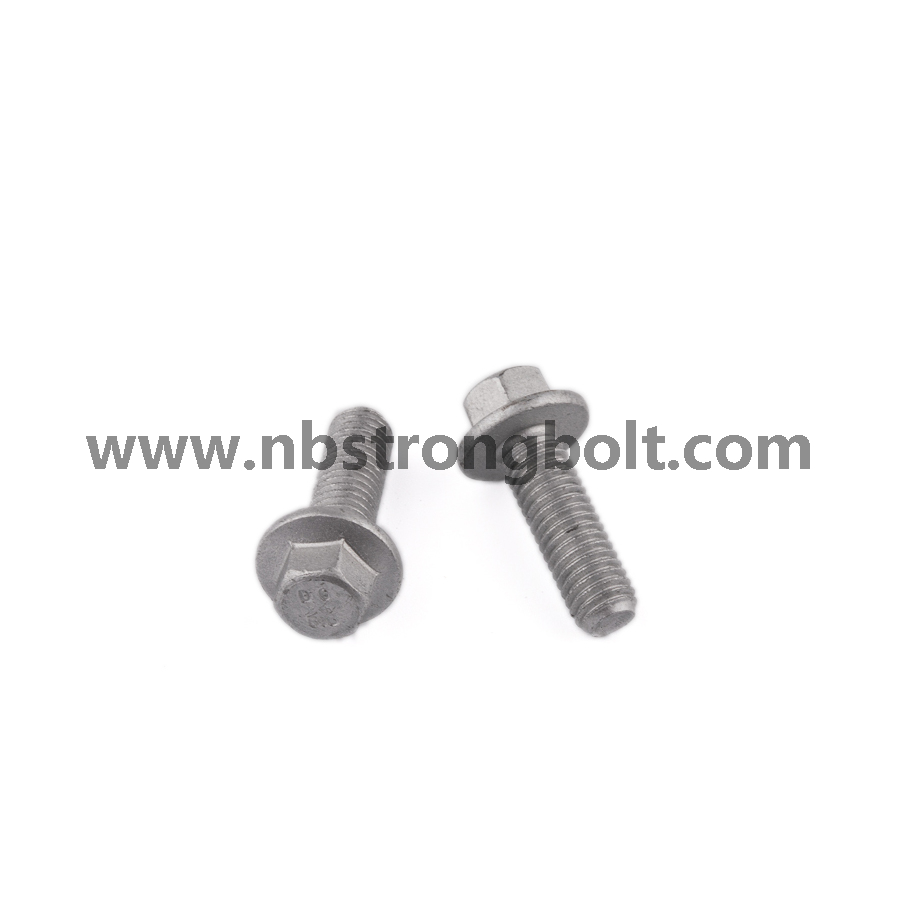 Hex Flange Bolts DIN6921/China flange bolt factory,China flange bolt manufacturer