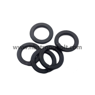 DIN127B Spring Lock Washer with Black Oxid M14.Spring Lock Washer DIN127B,China Washer factory,China washer manufacturer
