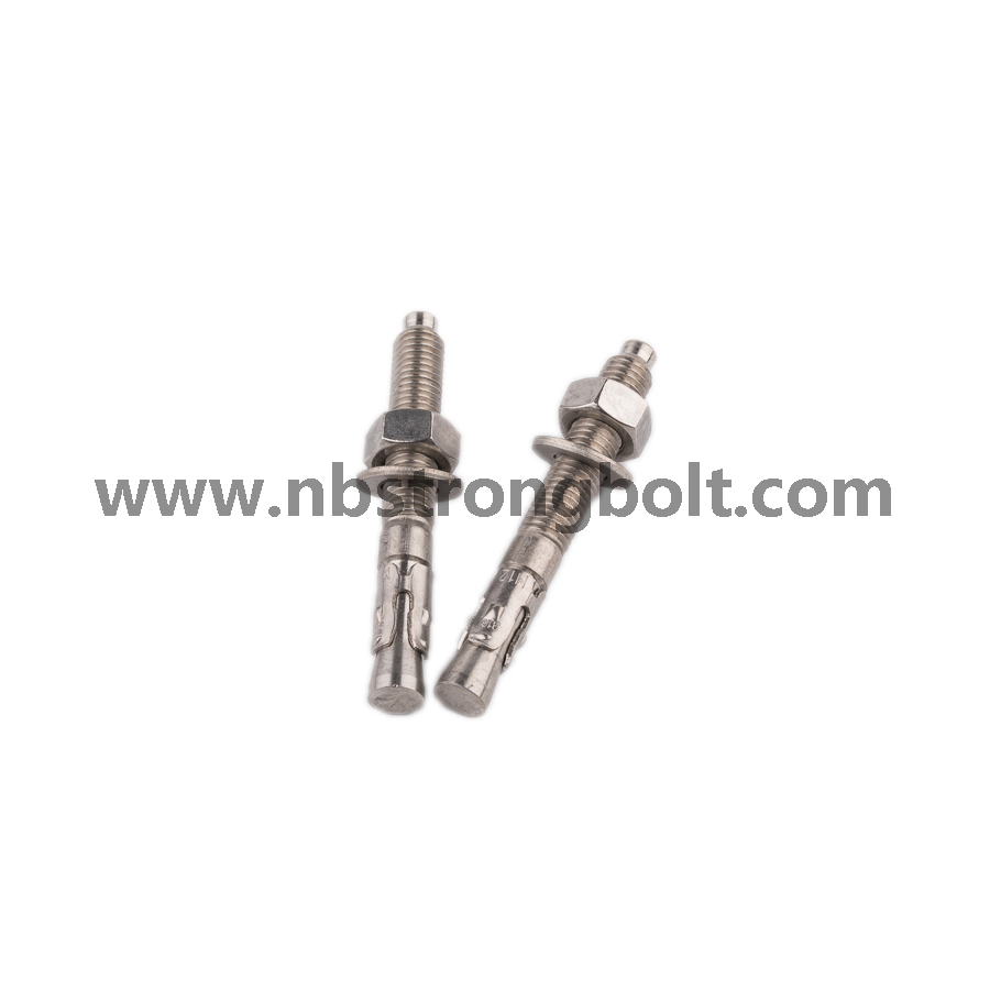 Wedge Anchor with Stainless Steel 304 M10XP1.5X95/China wedge anchor factory ,China anchor bolt manufacturer