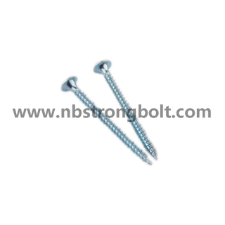 "C1022 Phil Drive Bugle Head Self Drilling Screws Bsd #2 Drill with Zinc Plated 6X1.5/8""/China self drilling screw factory,China screw factory"