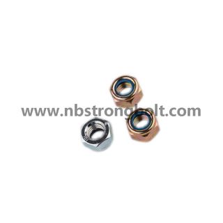 Fastener for DIN985 Prevailing Torque Type Hexagon Nuts with Nonmetallic Insert/China nut factory,China hex nut manufacturer