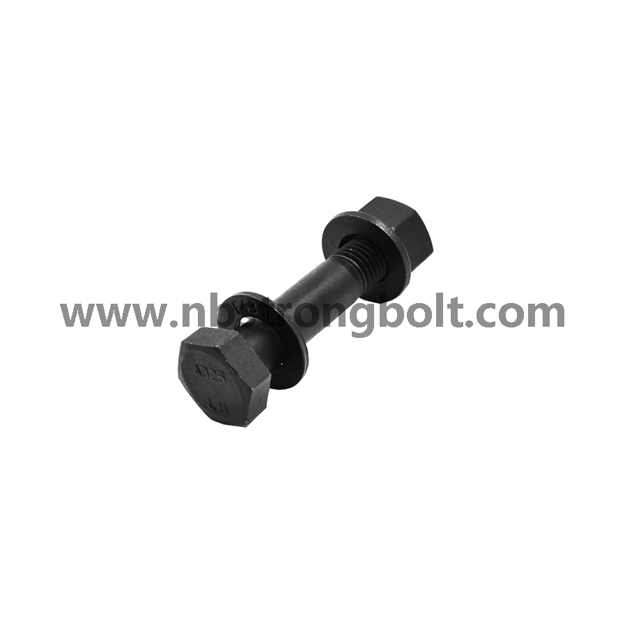 Hex Heavy Structual Bolt with ASTM A325 with Black/China hex bolts manufacturer,China Structural Bolt factory,China astm bolts