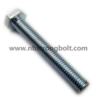Hex Bolts DIN933/DIN931 Gr. 8.8 HDG,China bolt factory,China bolt manufacturer