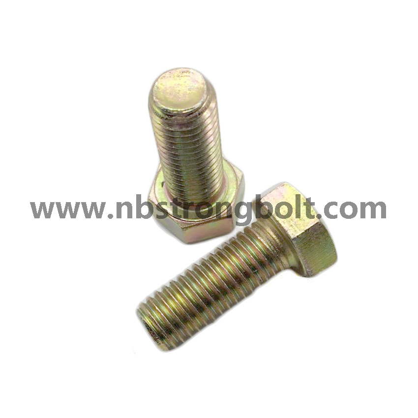 Hex Bolt DIN933 with Yzp/China hex bolt factory,China hex bolt manufacturer