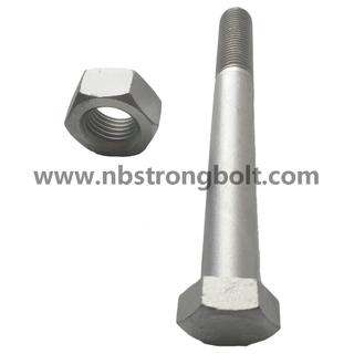 DIN931 Hex Bolt, Hex Cap Screw Gr. 10.9 Zinc/China hex Bolt manufacturer,China bolts factory,China hex bolts factory