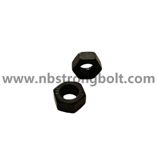 DIN934 Hex Nut Cl.10 Black Oxid M12