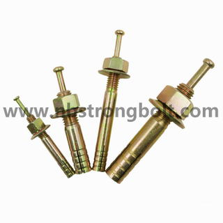 Hit Anchors With Yellow Zinc Plated/ China Bolt Anchor Factory,China Bolt Anchor Manufacturer