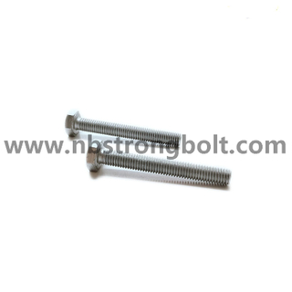 DIN933 Hex Bolt Cl.10.9 With HDG ISO Fitting M8X75/China hex bolt factory,China bolt manufacturer